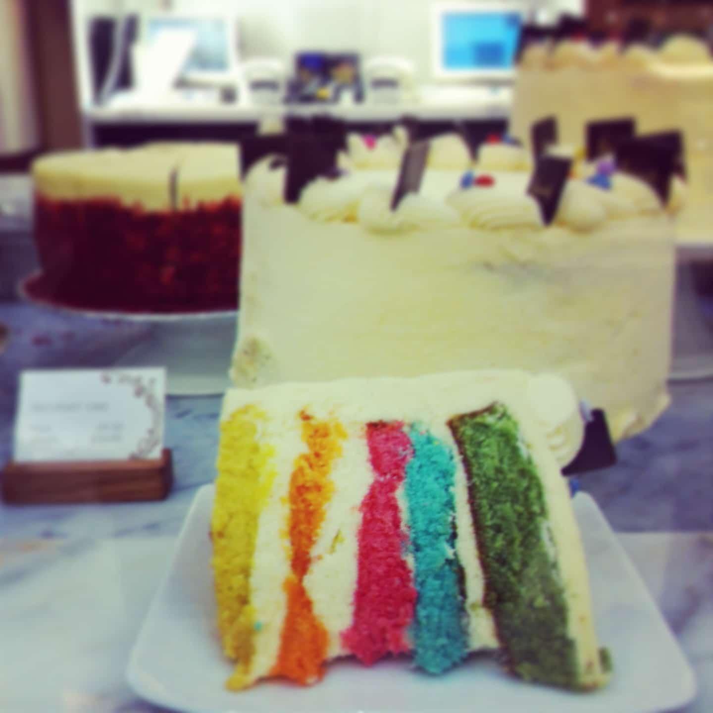 Le gâteau surprise chez Harrods