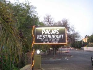 Le restaurant Paljas à Oudtshoorn