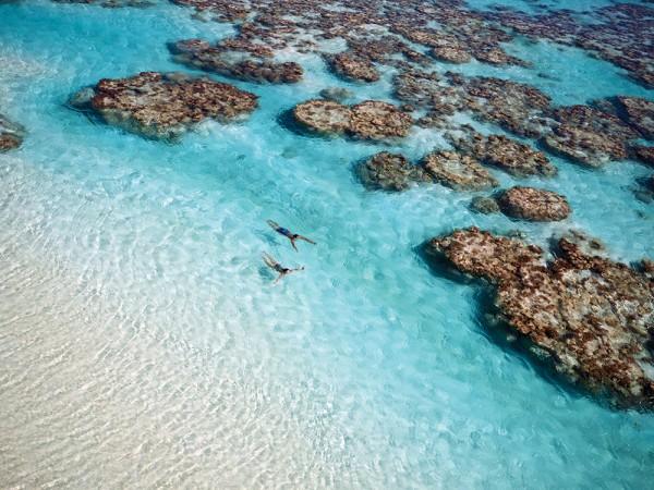 Un hôtel exclusif en Polynésie