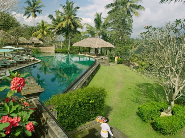 La piscine de l'Amandari