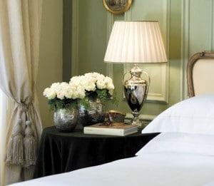 Une chambre de l'hôtel Four Seasons à Florence