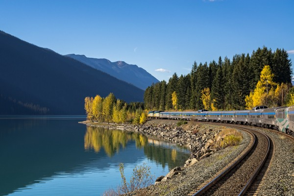 Canada-Van train moose lake Canadian