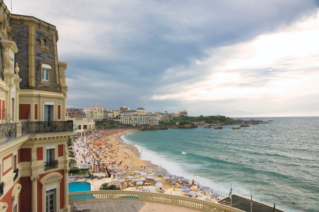 Escapade imp riale l 39 h tel du palais de biarritz mon - Prix chambre hotel du palais biarritz ...