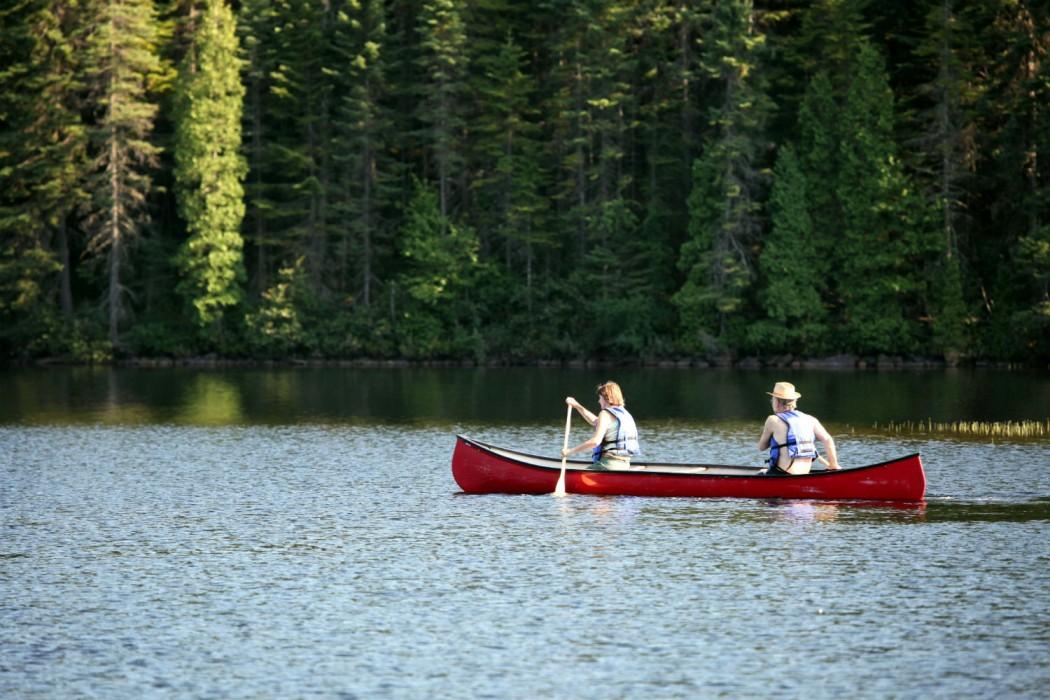 Circuit de luxe canada-Canot sur le Lac des Sables