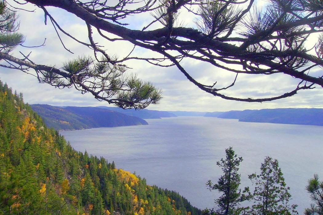 Circuit de luxe canada-Vue du Fjord