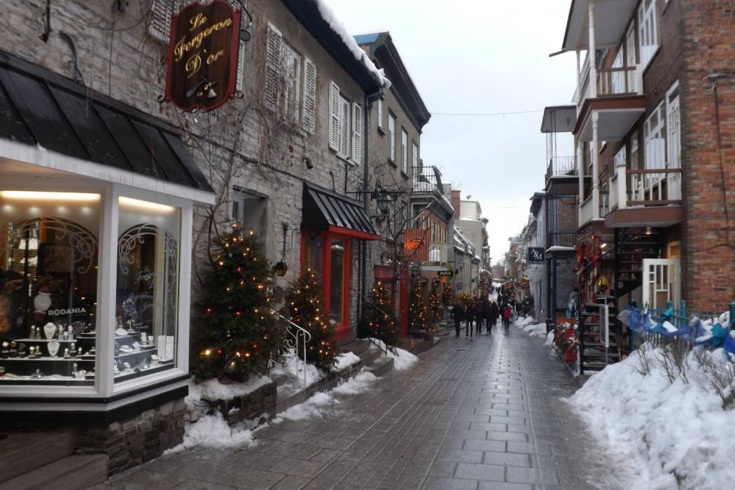 Quebec-Quartier Petit Champlain hiver (B.Personnaz)