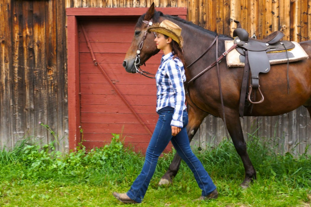Le Baluchon au Canada_Cow boy