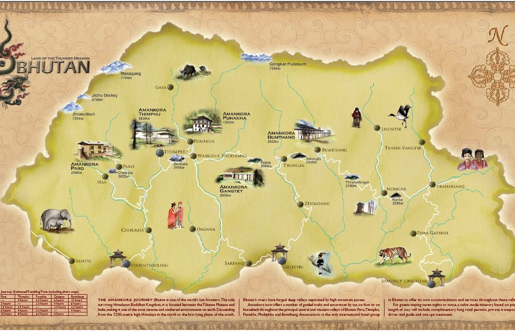 Amankora Map