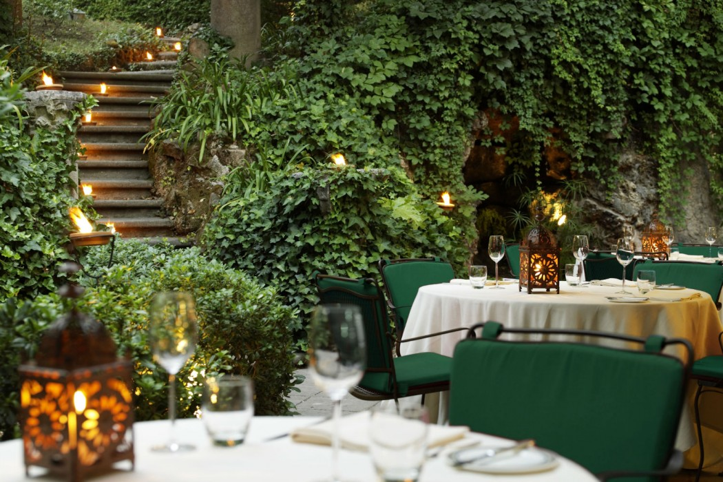 Restaurant le jardin de russie rome for Cafe jardin menu