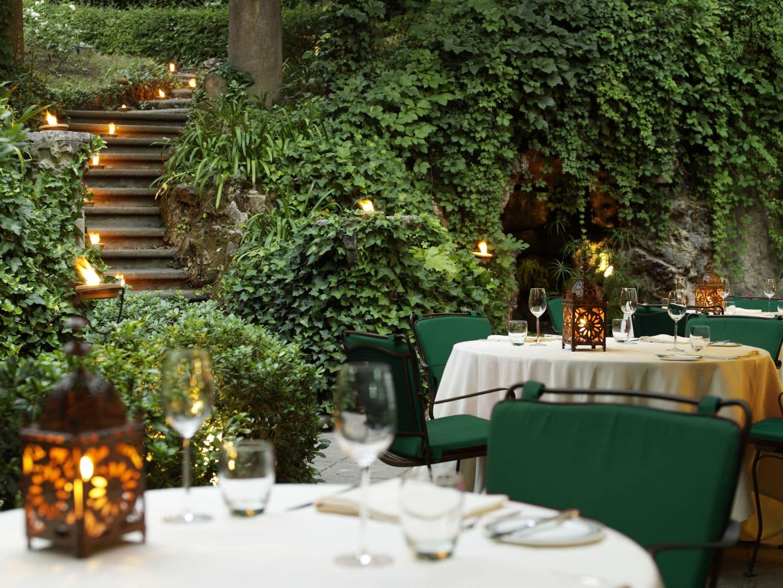 restaurant le jardin de russie rome