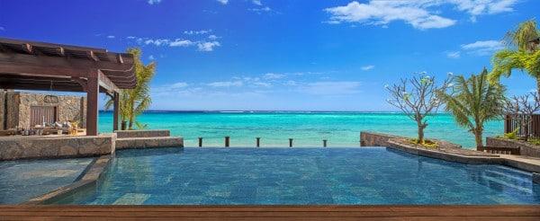 Mon Plus Beau Voyage a l ile maurice -The St Regis Mauritius - The St Regis Villa Infinity Pool