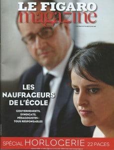 Couverture Le Figaro Magazine_ Mai 2015