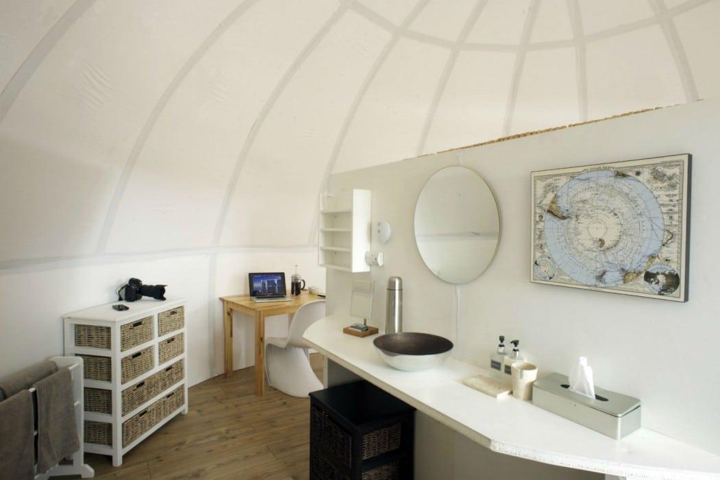 Mon Plus Beau Voyage - White Desert - Wash area and toilet inside each sleeping pod