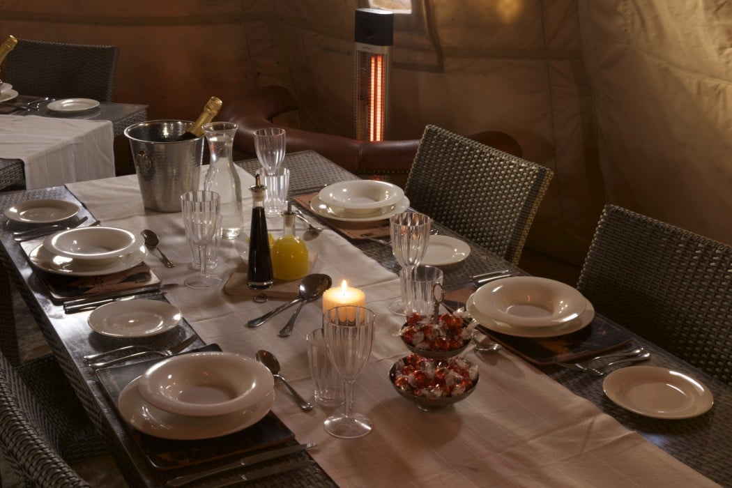 Mon Plus Beau Voyage - White Desert - dining room