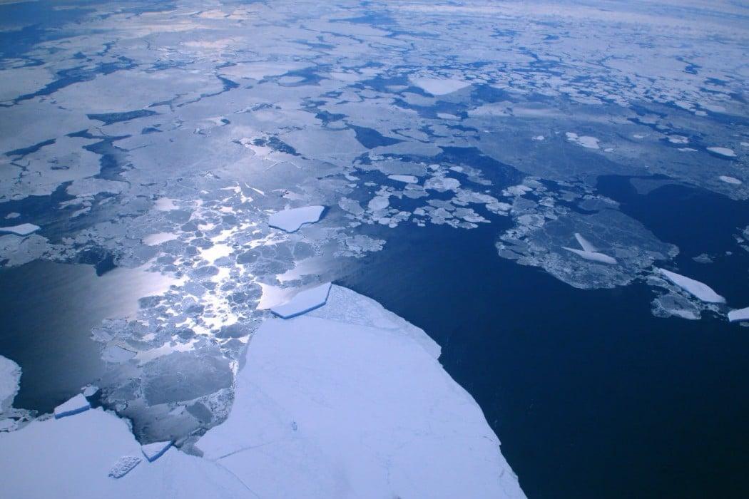 Mon Plus Beau Voyage - White Desert - first ice
