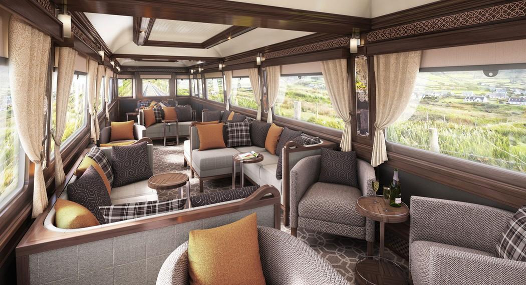 Belmond Grand Hibernian et Mon Plus Beau Voyage - Irlande observation car