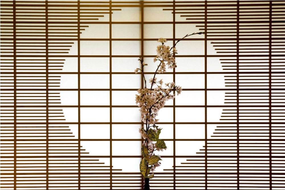 22 - Flowers at Kayotei Ryokan - Ishikawa Pref