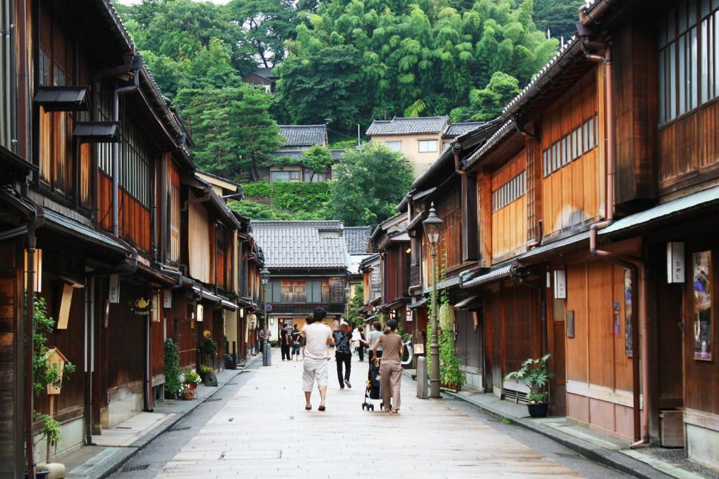 6 - Kanazawa -  Higashichaya District