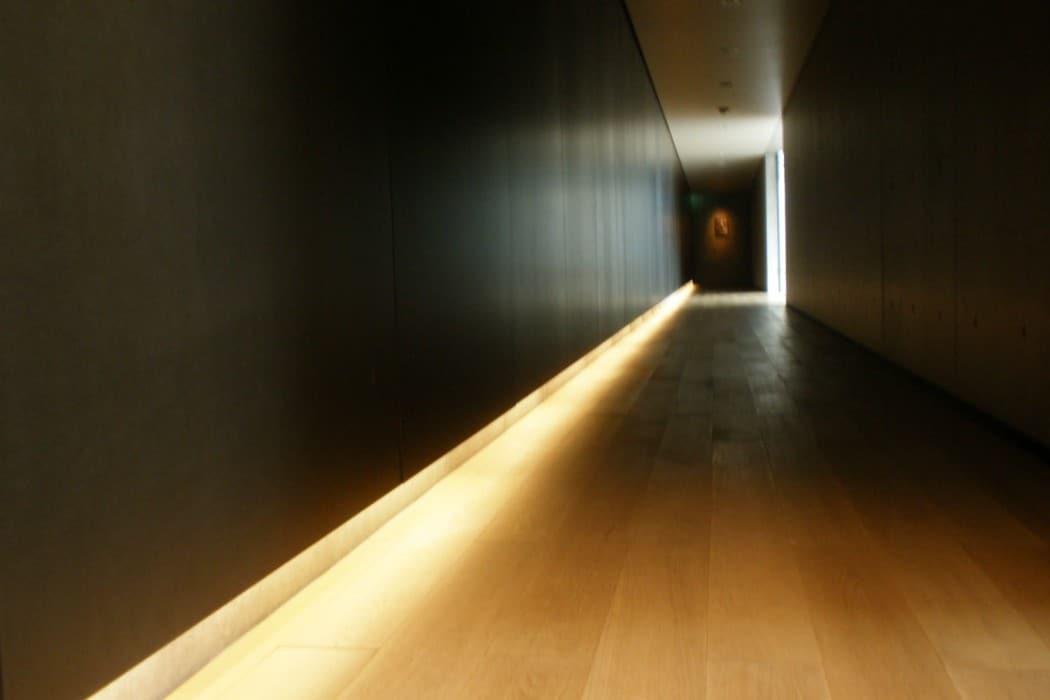 DT Suzuki Museum - inside