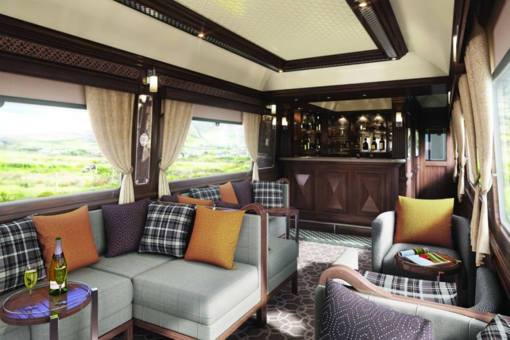Irlande - Belmond Grand Hibernian Train, Observation car