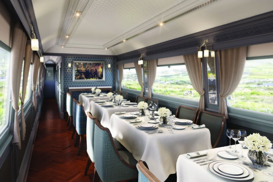 Irlande - Belmond Grand Hibernian Train, Sligo Dining car