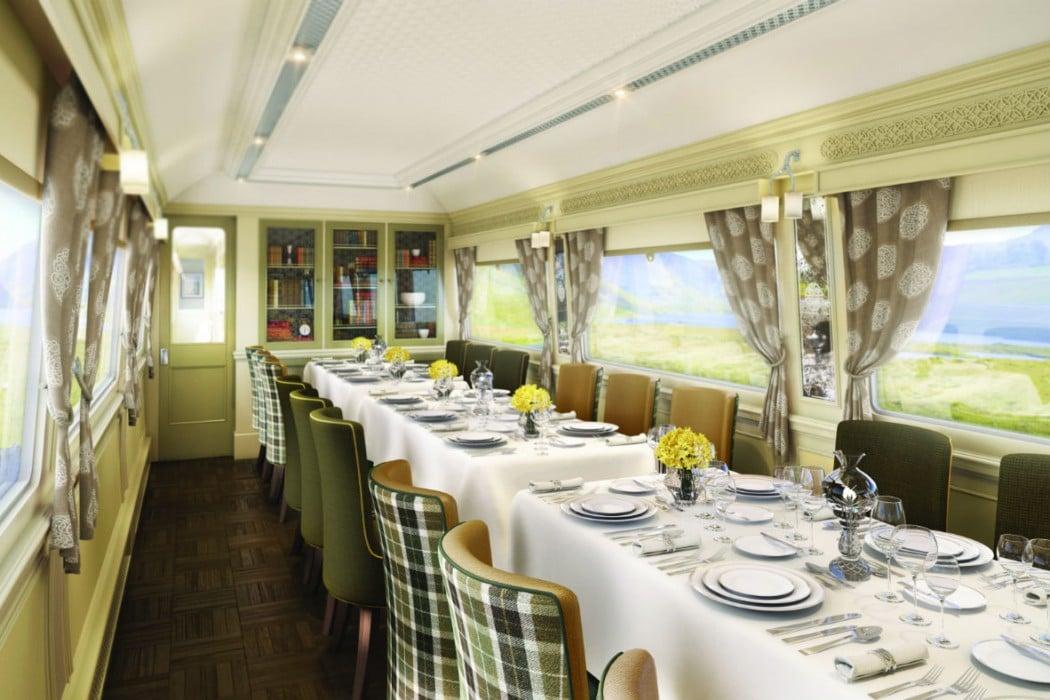 Irlande - Belmond Grand Hibernian Train, Wexford Dining car