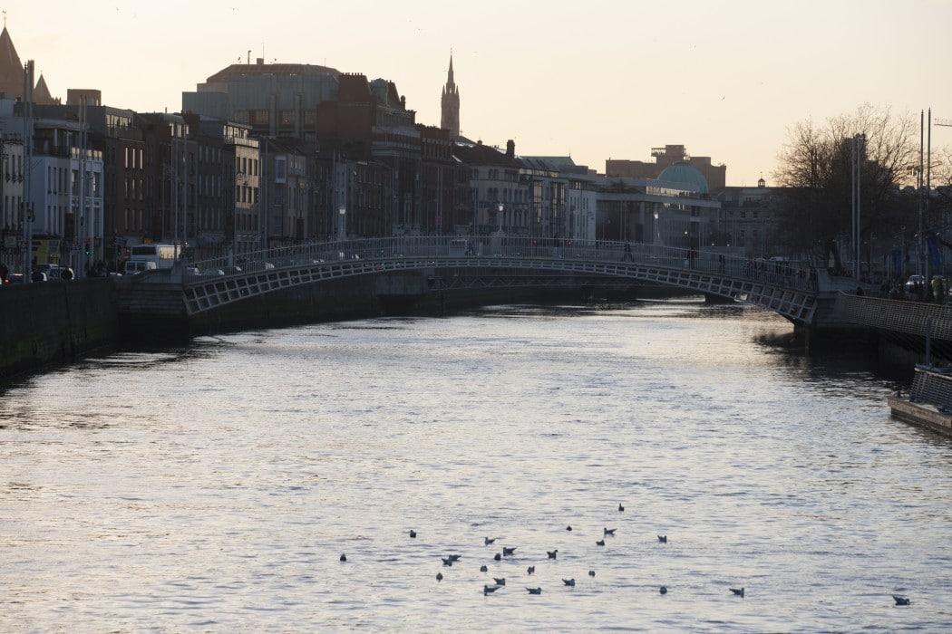 Ha'penny Bridge; Dublin City