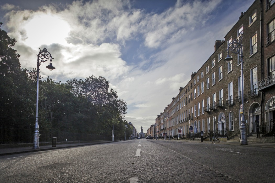 Merrion Square streetscape