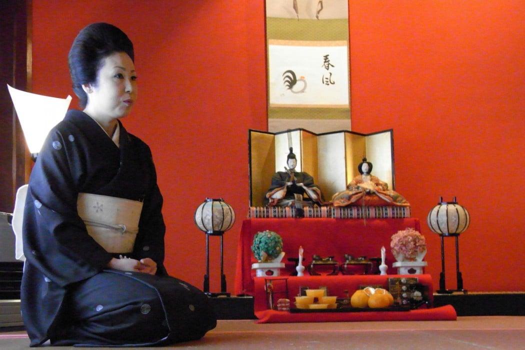 Ishikawa Pref - Okami-san at Kaikaro Geisha House