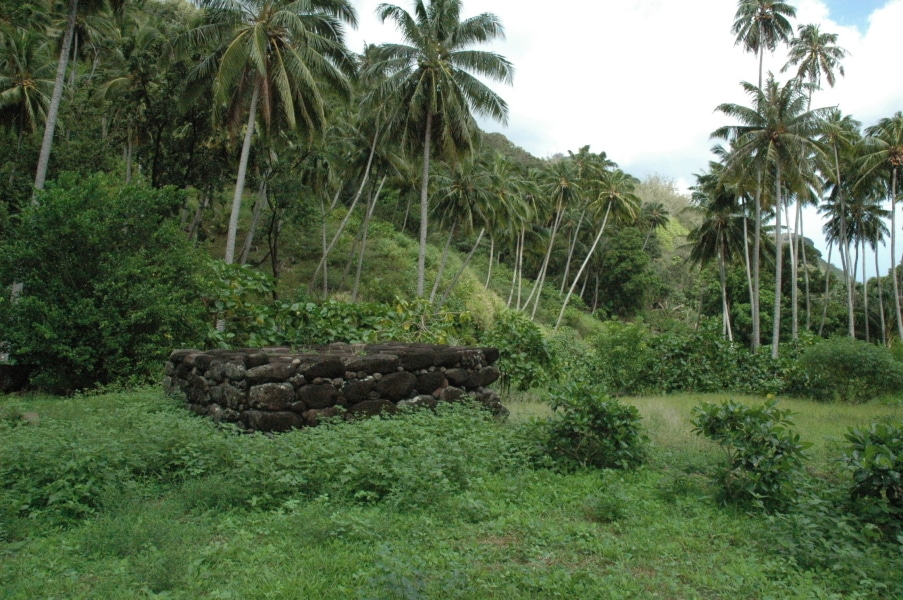 Le centre cérémoniel de Vaitahu