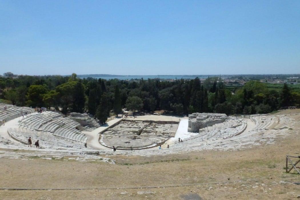 Mon Plus Beau Voyage en Sicile - Syracuse - theatre antique