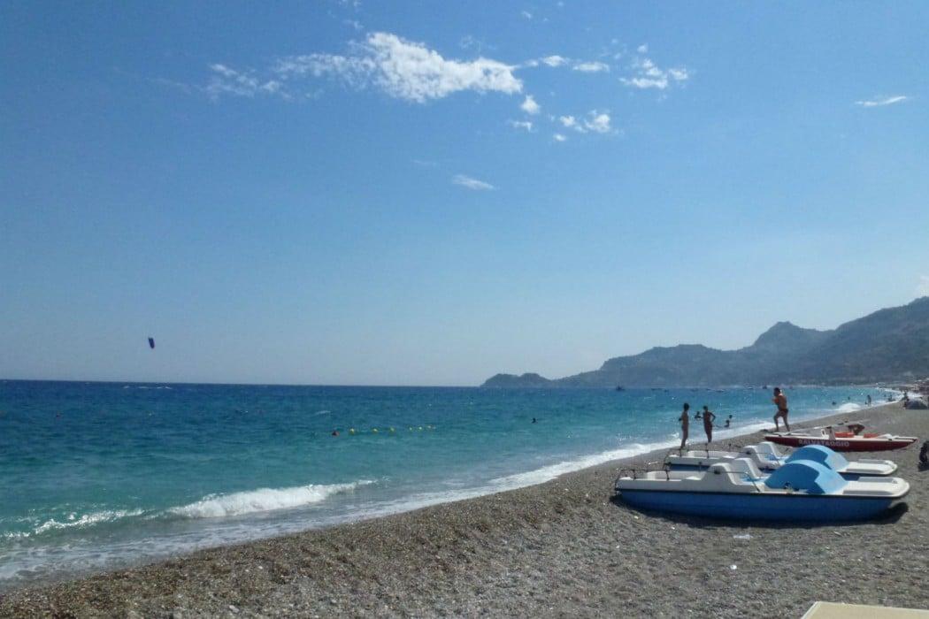 Mon Plus Beau Voyage en Sicile - Taormine - plage