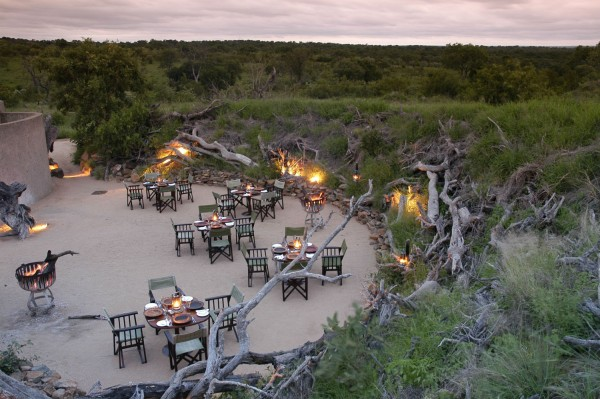 Afrique du Sud - Sabi Sabi - Earth Lodge - Boma