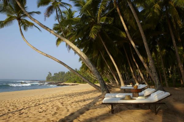 Sri Lanka - Amanwella - Beach Loungers