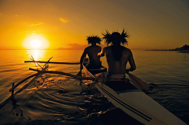 Tour du monde de luxe  en avion prive TAHITI