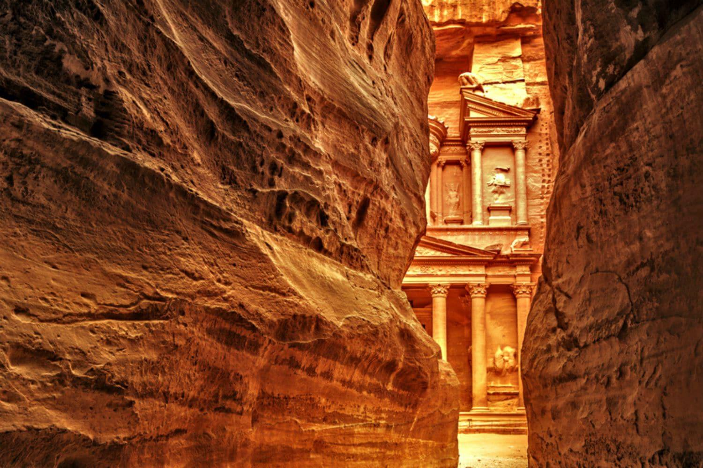 Tour du monde de luxe  en avion prive jordanie