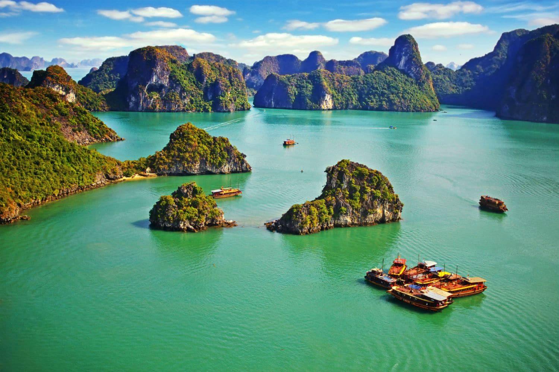 Tour du monde de luxe  en avion prive vietnam