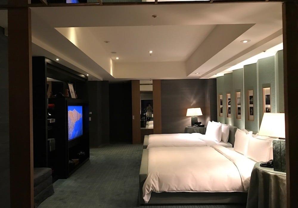 Mon Plus Beau Voyage a Tokyo_chambre Park Hyatt suite double lit