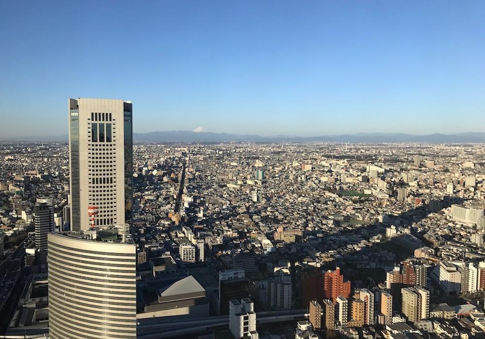 Mon Plus Beau Voyage a Tokyo_chambre Park Hyatt vue Mont Fuji
