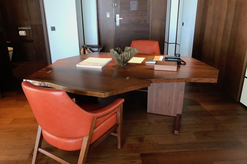 Mon Plus Beau Voyage a l Andaz Tokyo bureau dans la suite