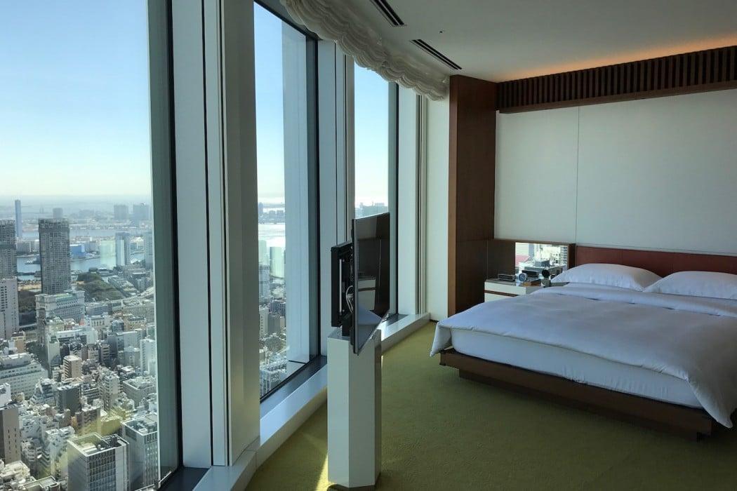 Mon Plus Beau Voyage a l Andaz Tokyo chambre avec vue