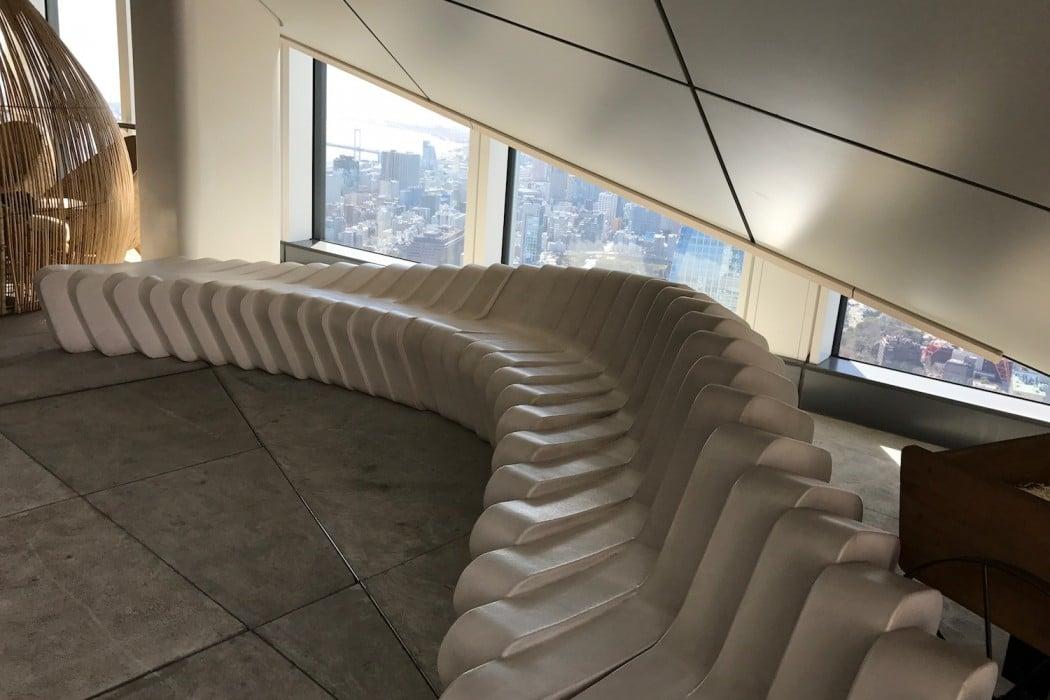 Mon Plus Beau Voyage a l Andaz Tokyo the roof top design
