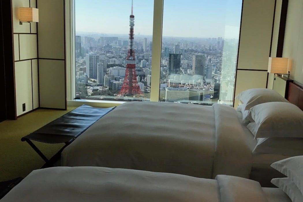 Mon Plus Beau Voyage a l Andaz Tokyo tokyo tower view