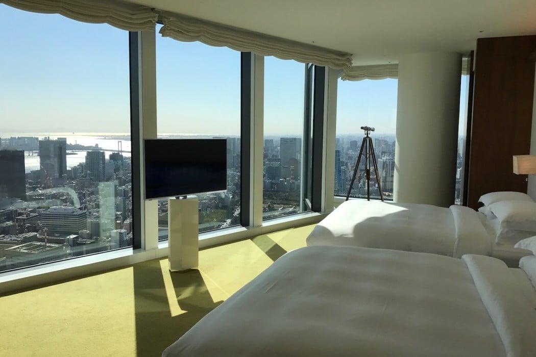Mon Plus Beau Voyage a l Andaz Tokyo vue de la suite