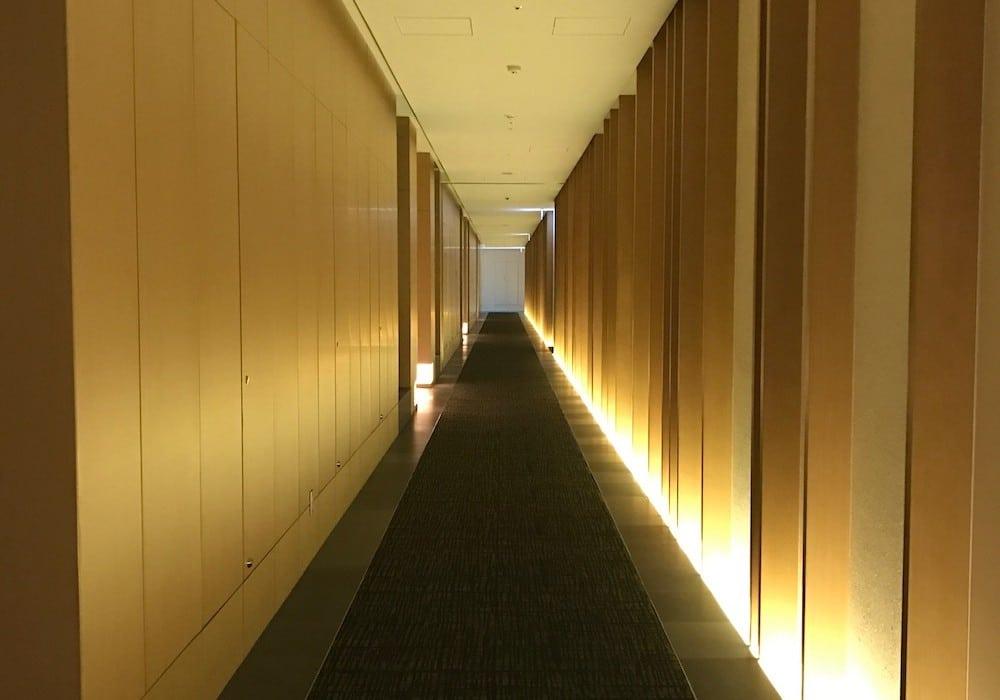 Mon Plus Beau Voyage-circuit de luxe- Hotel Aman Tokyo couloir des chambres