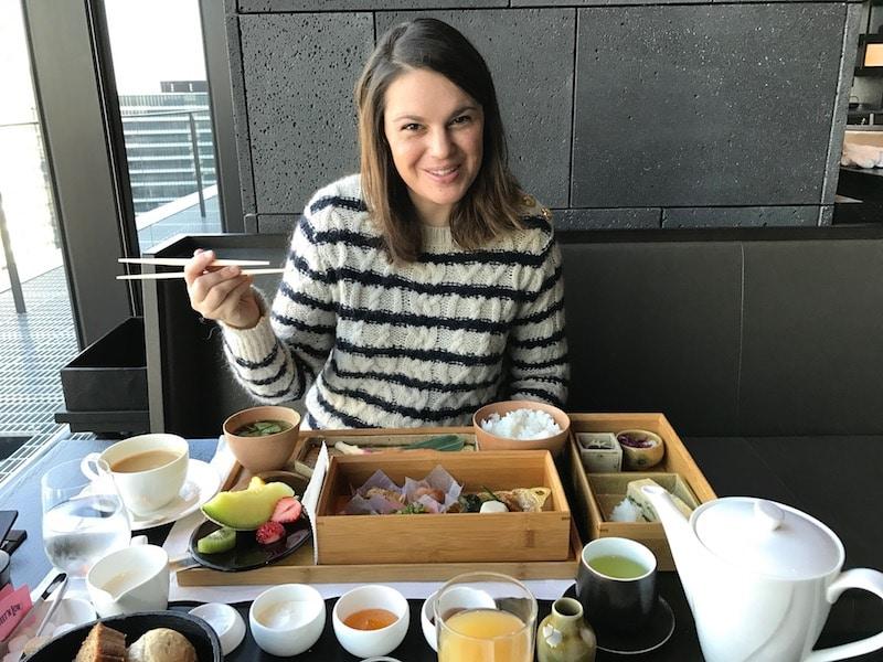 Mon Plus Beau Voyage-circuit de luxe- Hotel Aman Tokyo degustation bentos