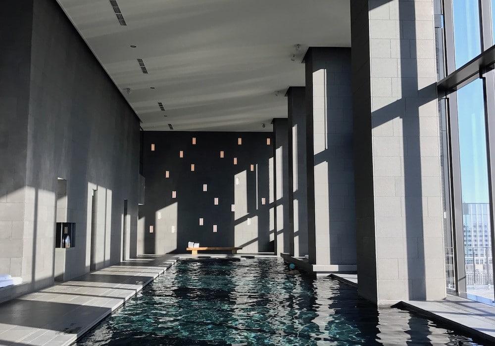 Mon Plus Beau Voyage-circuit de luxe- Hotel Aman Tokyo la piscine