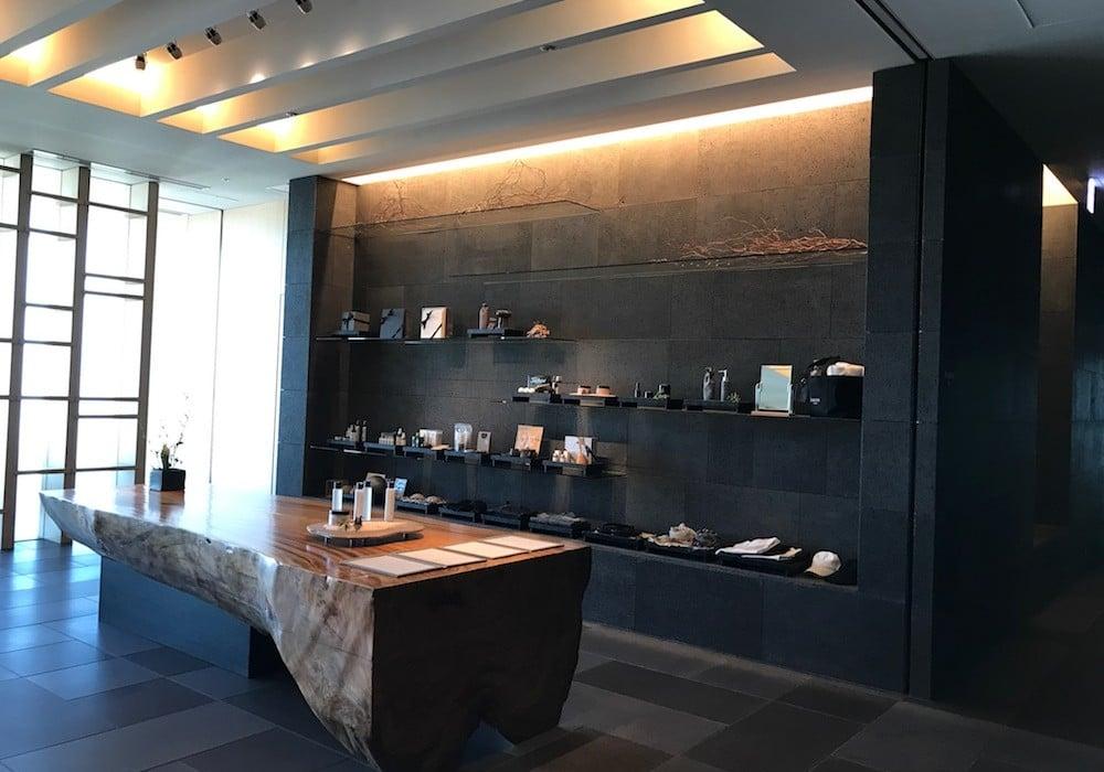 Mon Plus Beau Voyage-circuit de luxe- Hotel Aman Tokyo le spa