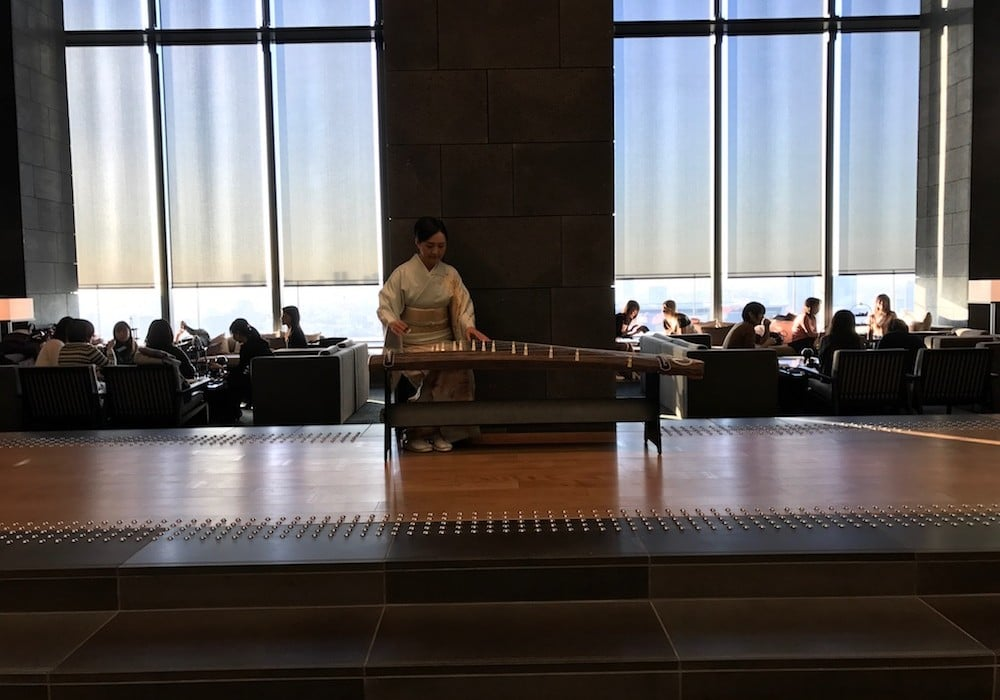Mon Plus Beau Voyage-circuit de luxe- Hotel Aman Tokyo musique