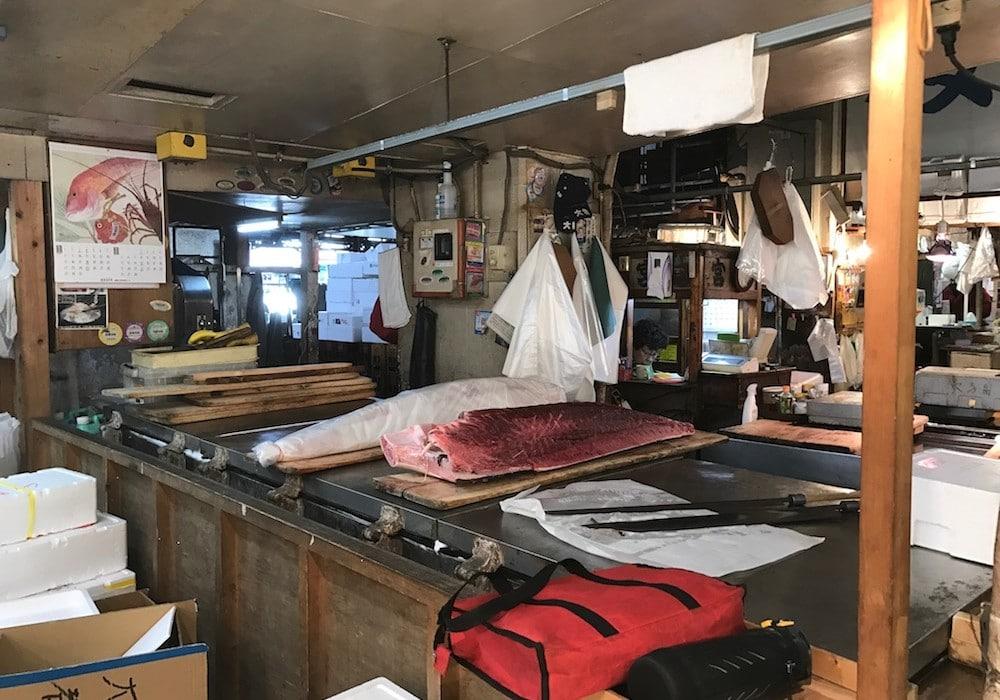Circuit luxe sur mesure - Mon Plus Beau Voyage au Japon Tokyo Tsujiki marche poissons thon rouge
